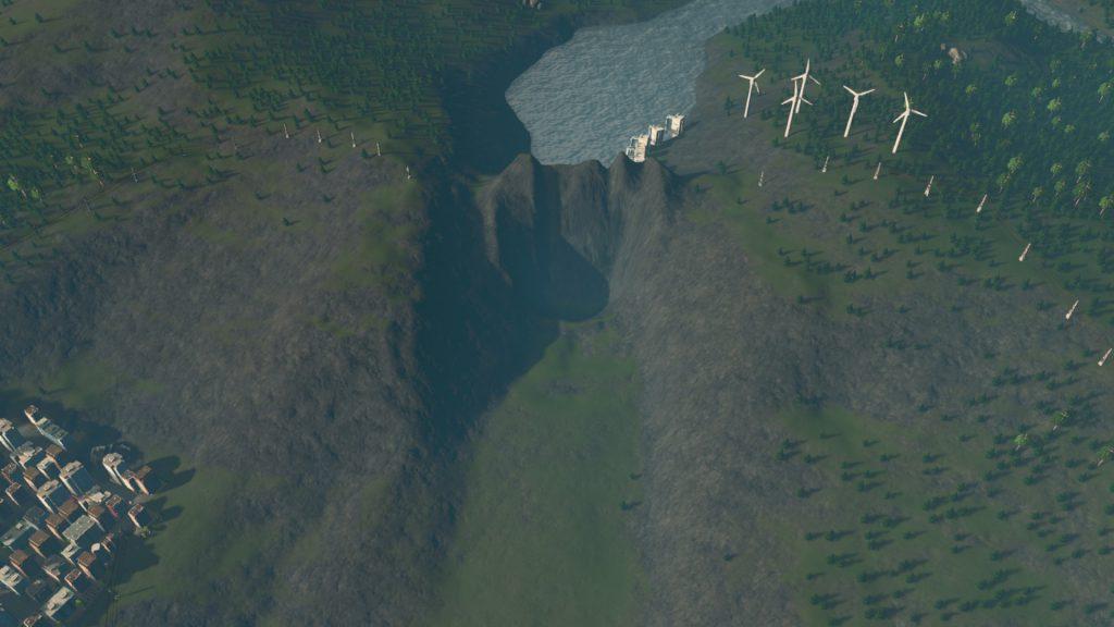 Dam-1024x576 【Cities:skylines 攻略ブログ】  シナリオ バイ・ザ・ダム 65万人の都市に育てる Cities:Skylines(シティーズ:スカイライン ) 街作りシミュレーションゲーム