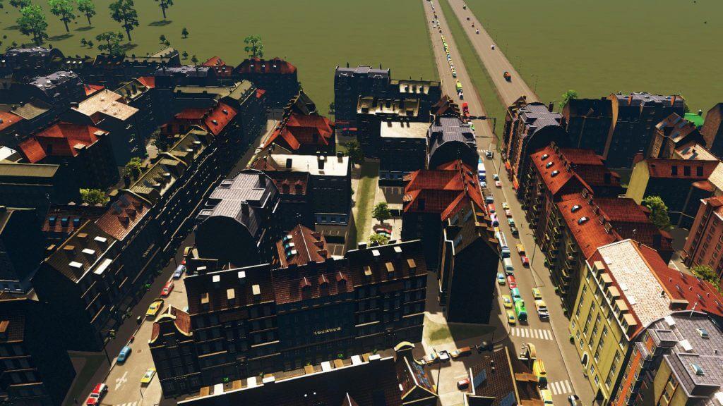 cities:skylines 高速道路出口の渋滞