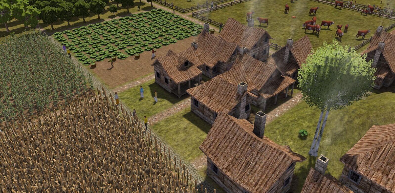 Banished 村