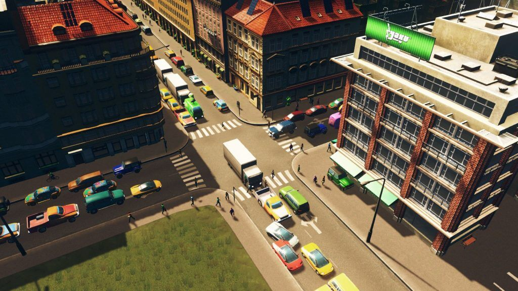 cities:skylines 交差点の渋滞