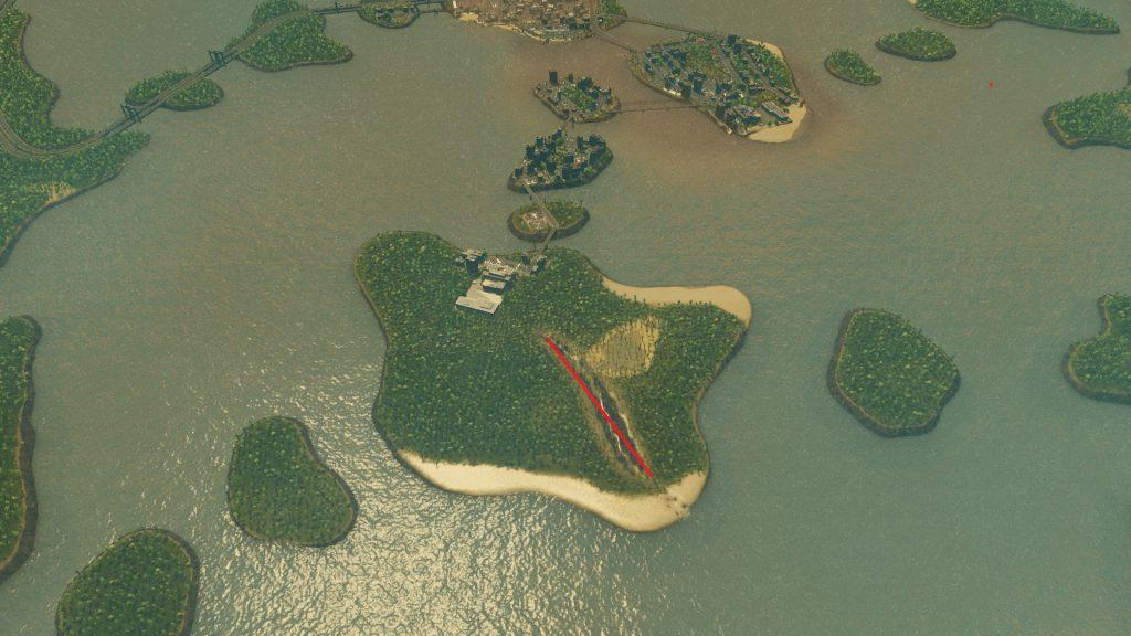Cities:skylines 2回目の津波で壊滅した街