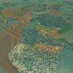 【Cities:skylines 攻略ブログ】  シナリオ アイランドホッピング 津波に耐えながら人口25万人を突破する