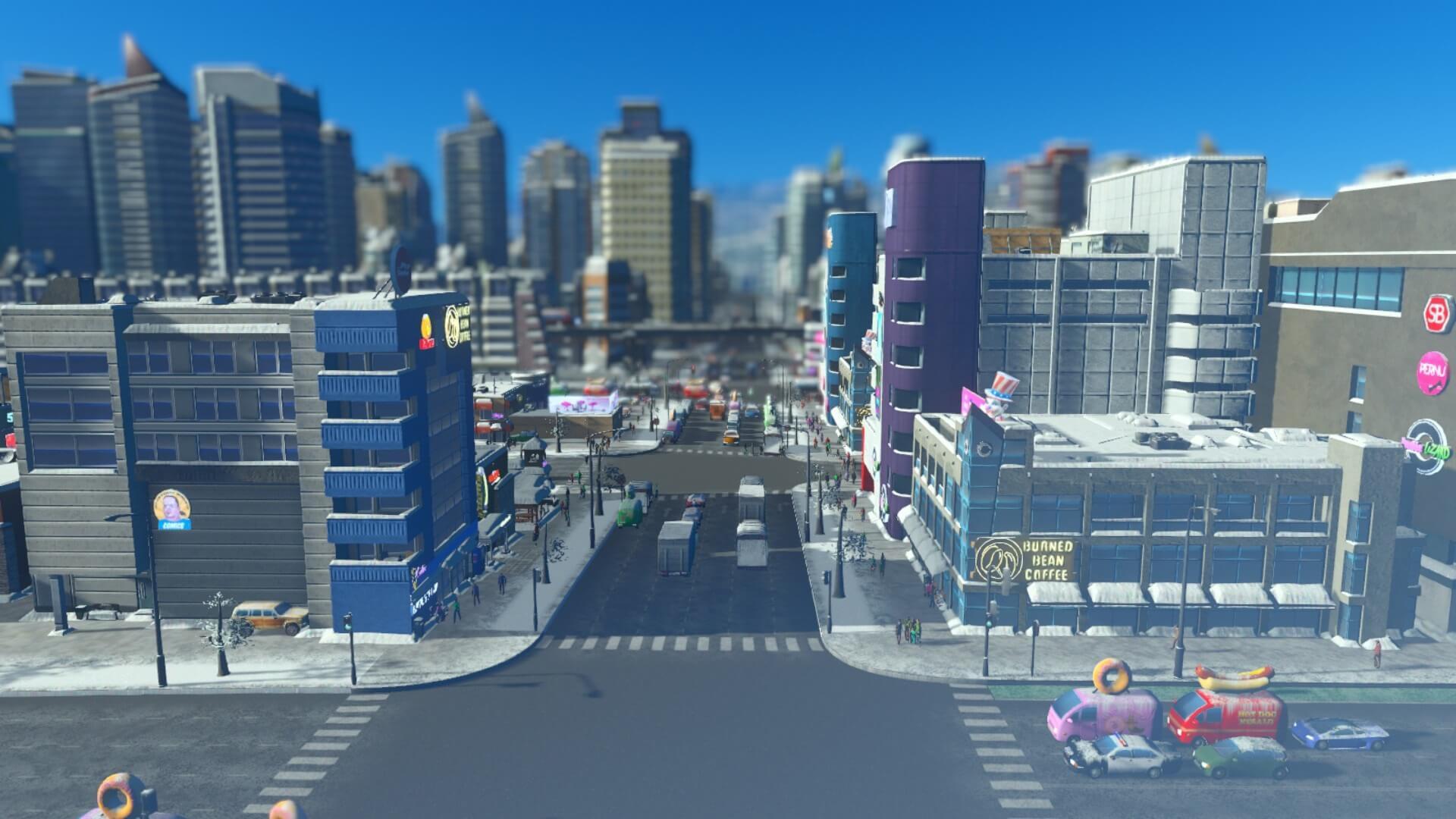 Traffic016-1-1024x576 【シティーズ スカイライン 攻略ブログ】 初心者の為の高速道路周辺の渋滞解消法 Cities:Skylines(シティーズ:スカイライン ) 街作りシミュレーションゲーム