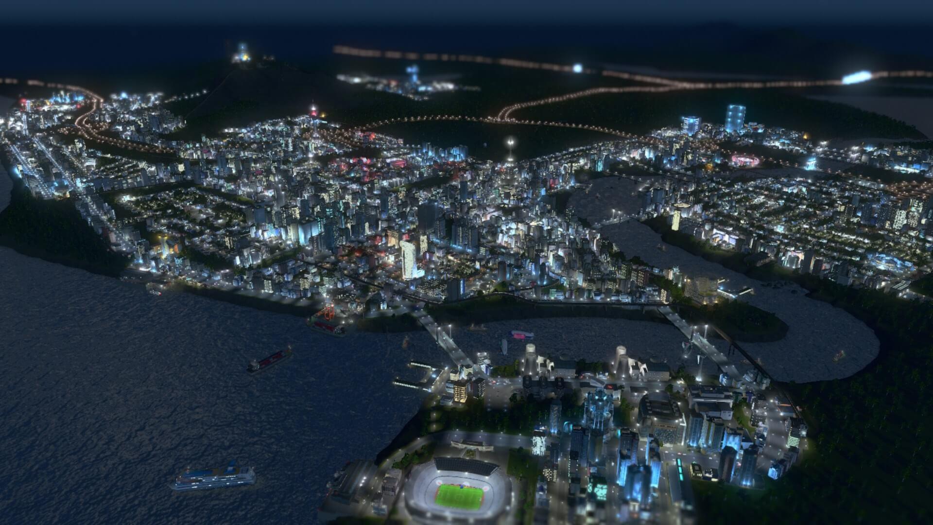 office001 【シティーズ スカイライン 攻略ブログ】 特化地区とオフィス区画で高収益を目指す Cities:Skylines(シティーズ:スカイライン ) 街作りシミュレーションゲーム