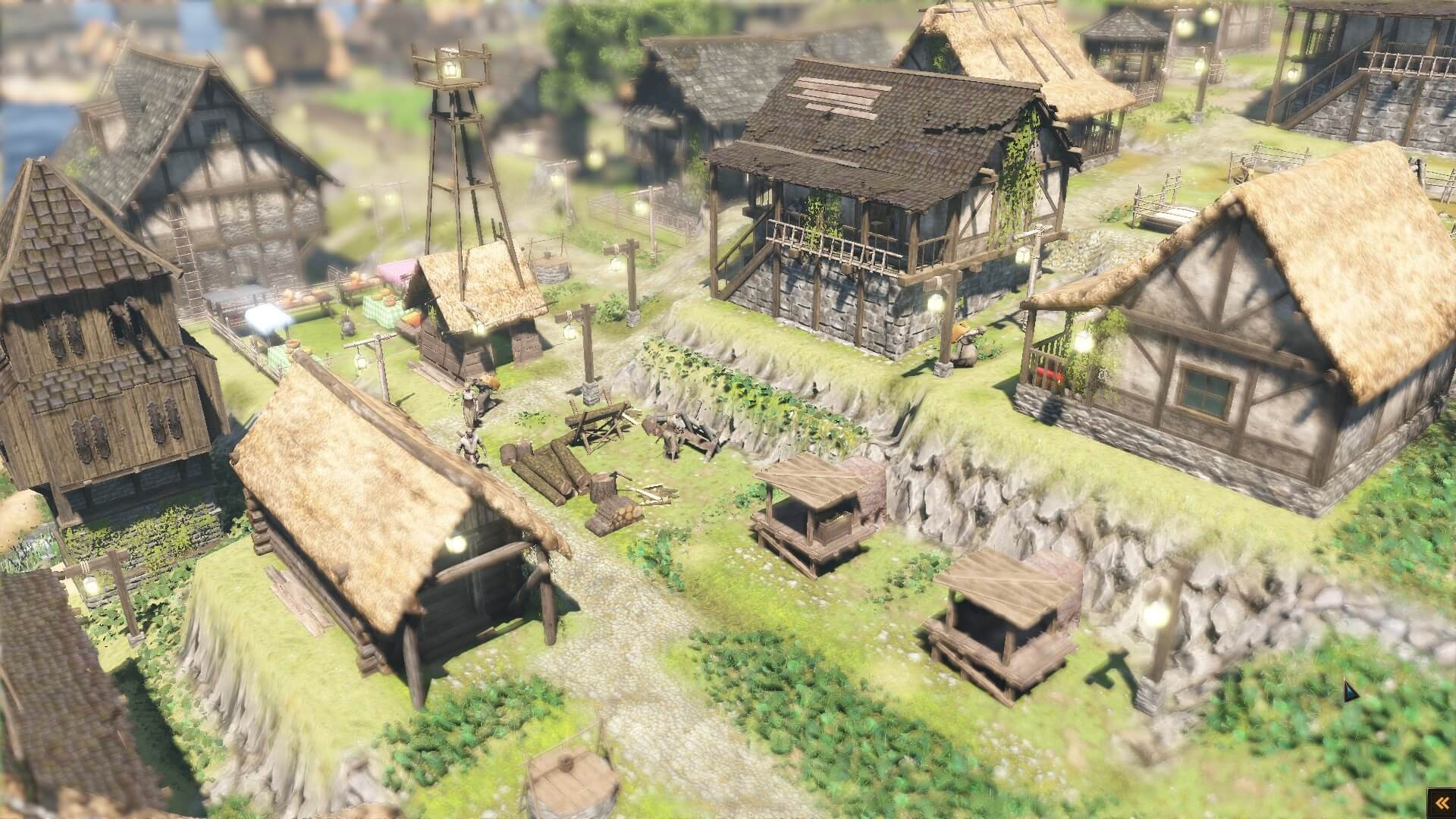 Forest-Village_charcoal06 【 Life is Feudal: Forest Village 攻略ブログ】 効率の良い薪・木炭の生産方法 Life is Feudal: Forest Village(フォレストヴィレッジ) 街作りシミュレーションゲーム