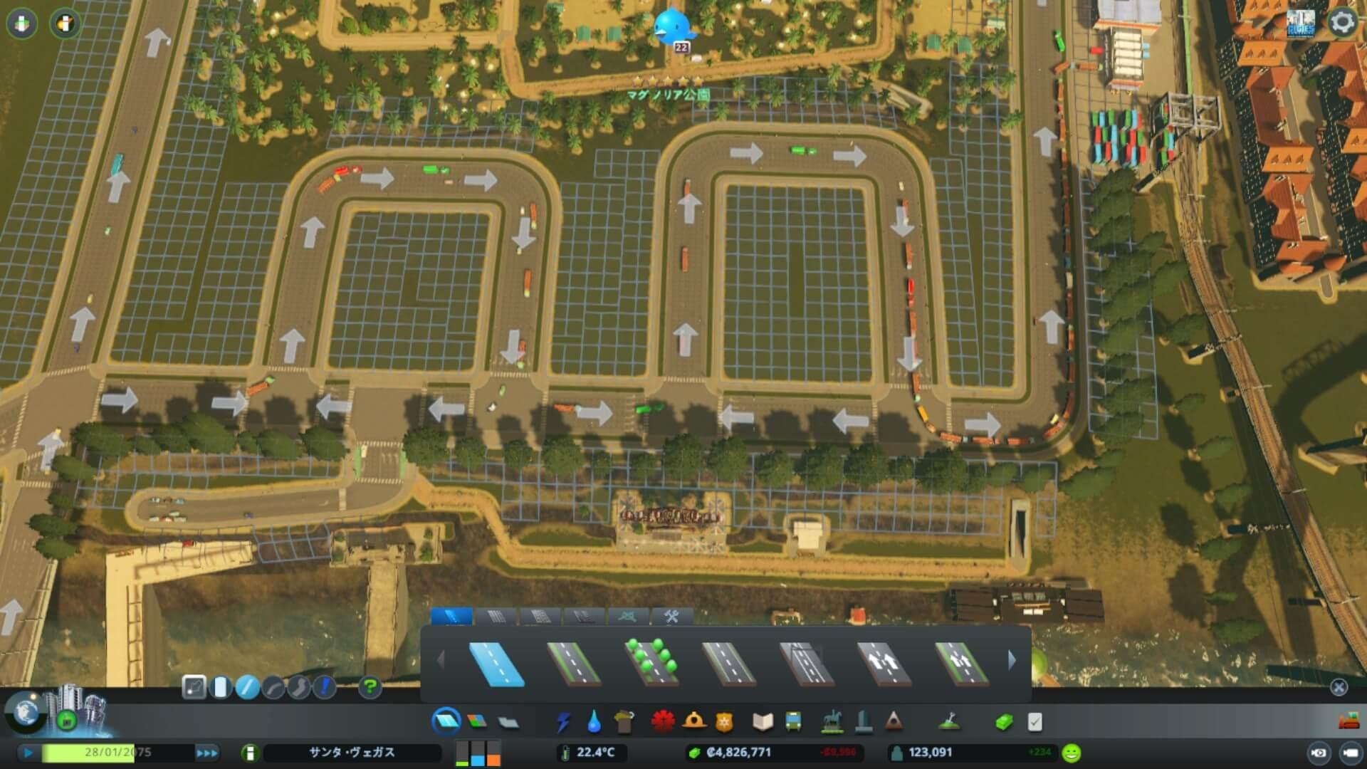 cities-skylines-cargo01-1024x576 【Cities:skylines攻略ブログ】 渋滞しない貨物港駅・貨物ハブの作り方 Cities:Skylines(シティーズ:スカイライン ) 街作りシミュレーションゲーム