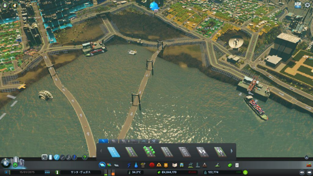cities-skylines-cargo02-1024x576 【Cities:skylines攻略ブログ】 渋滞しない貨物港駅・貨物ハブの作り方 Cities:Skylines(シティーズ:スカイライン ) 街作りシミュレーションゲーム