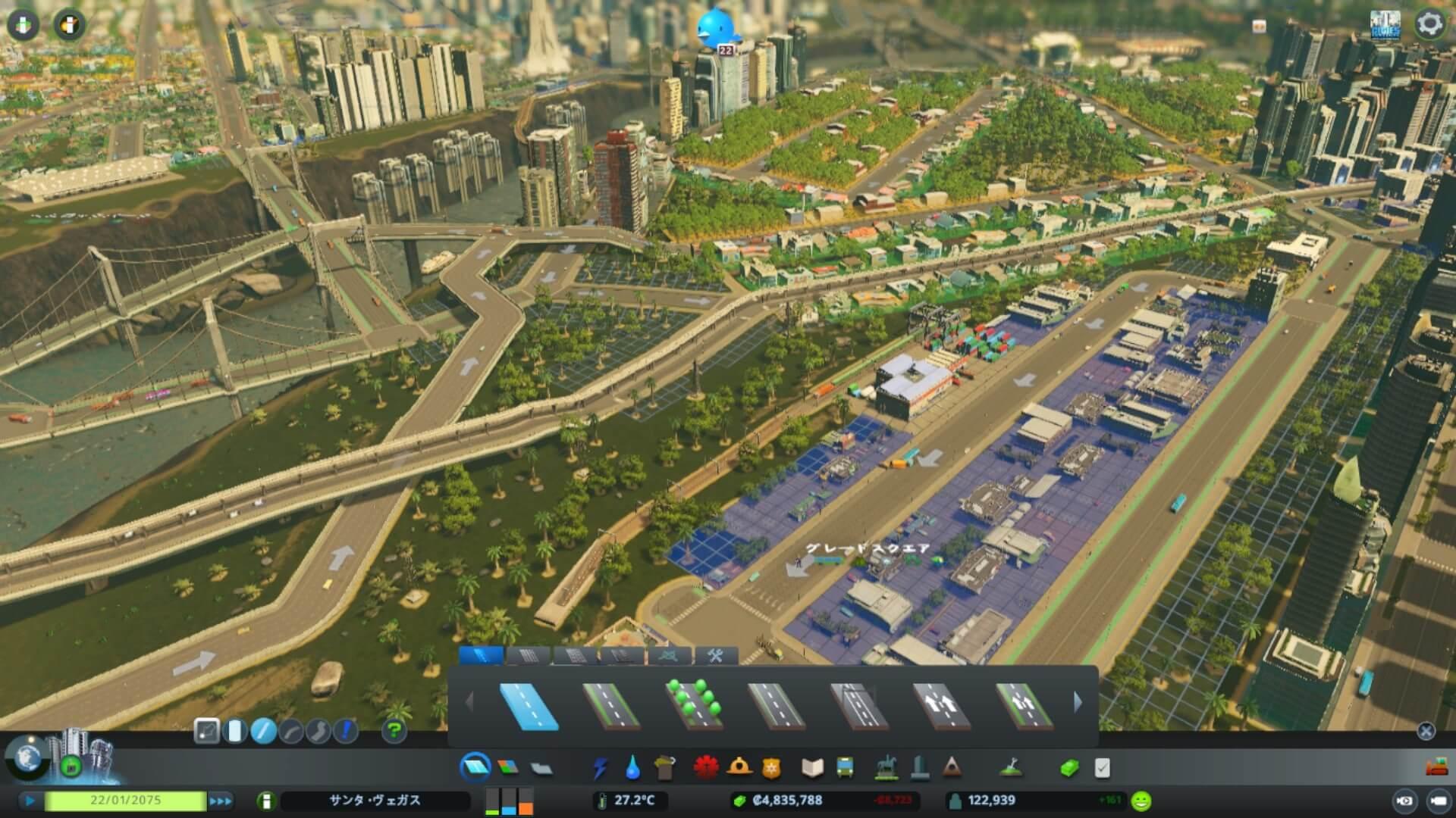 cities-skylines-cargo03-1024x576 【Cities:skylines攻略ブログ】 渋滞しない貨物港駅・貨物ハブの作り方 Cities:Skylines(シティーズ:スカイライン ) 街作りシミュレーションゲーム